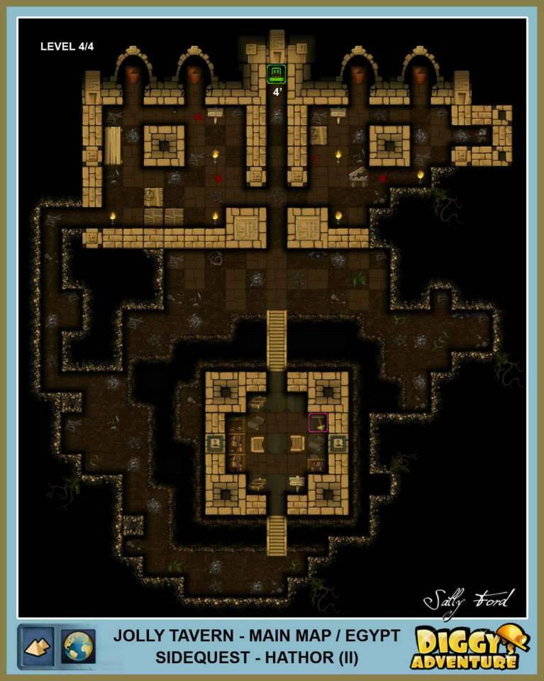 Diggy's Adventure Walkthrough: Egypt Main / Jolly Tavern