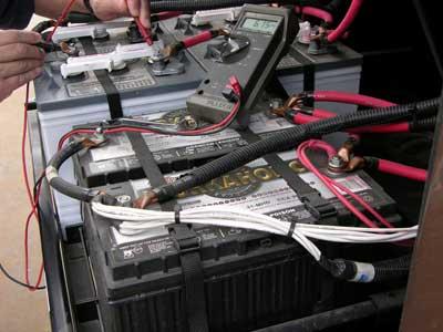 Adding RV batteries