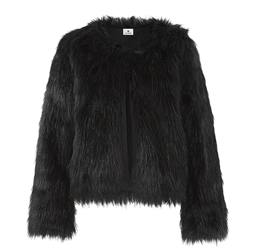 altuzarra faux fur coat