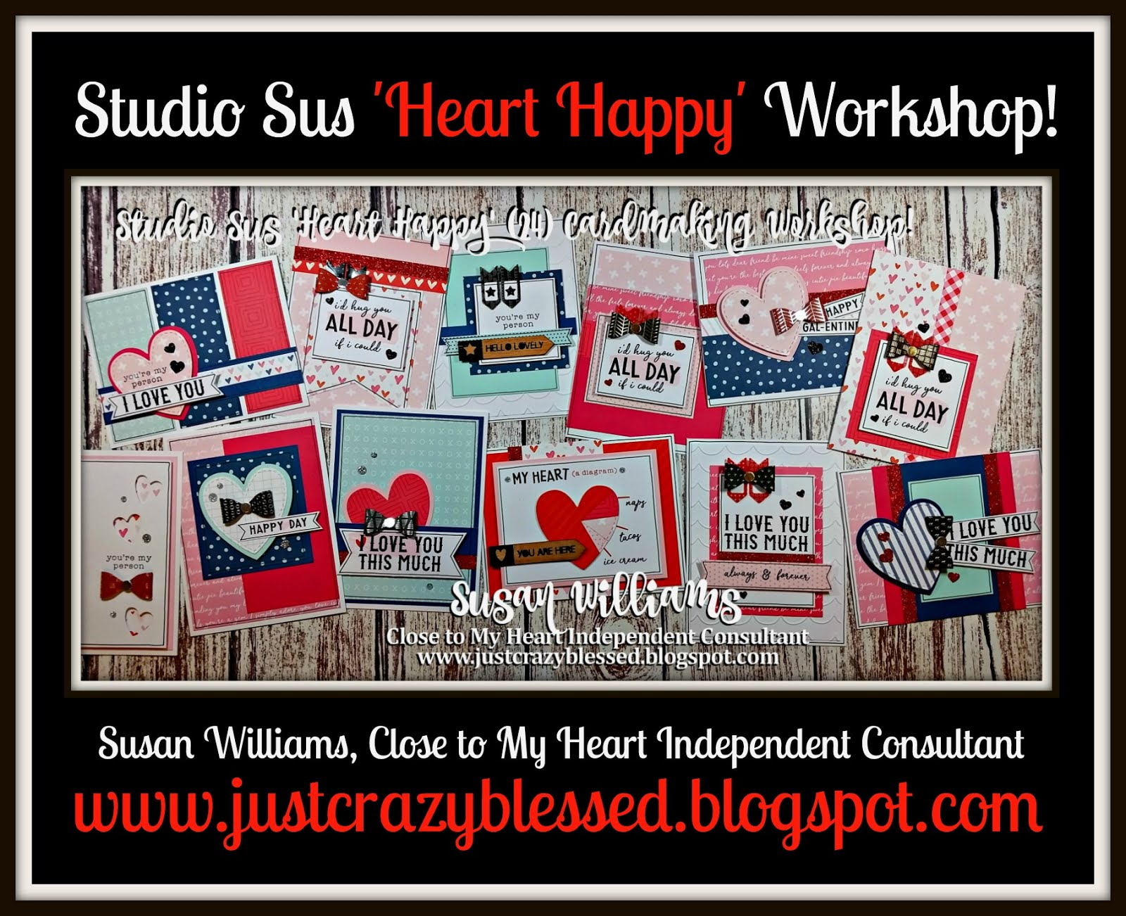 'Heart Happy' Cardmaking Workshop!