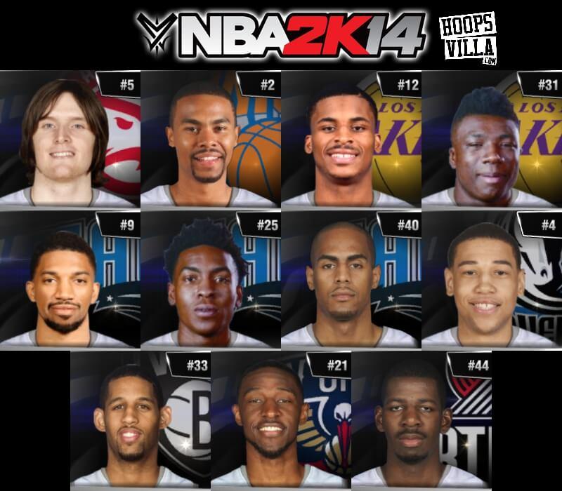 NBA 2k14 Roster update - August 6, 2017 - HoopsVilla