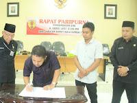 Bupati HST H Abdul Latif, Mundur dari Jabatan Bupati. Sampaikan Permohonan Maaf  ke Masyarakat Murakata