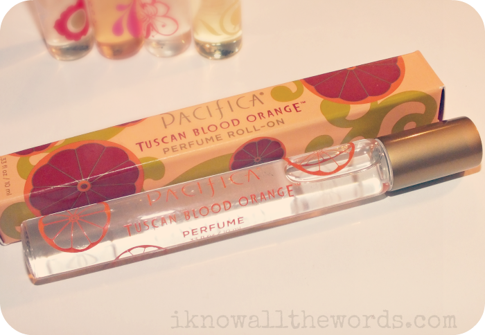 Pacifica Perfume Roll On Tuscan Blood Orange