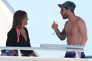 Lionel Messi holidays in Ibiza Spain with family