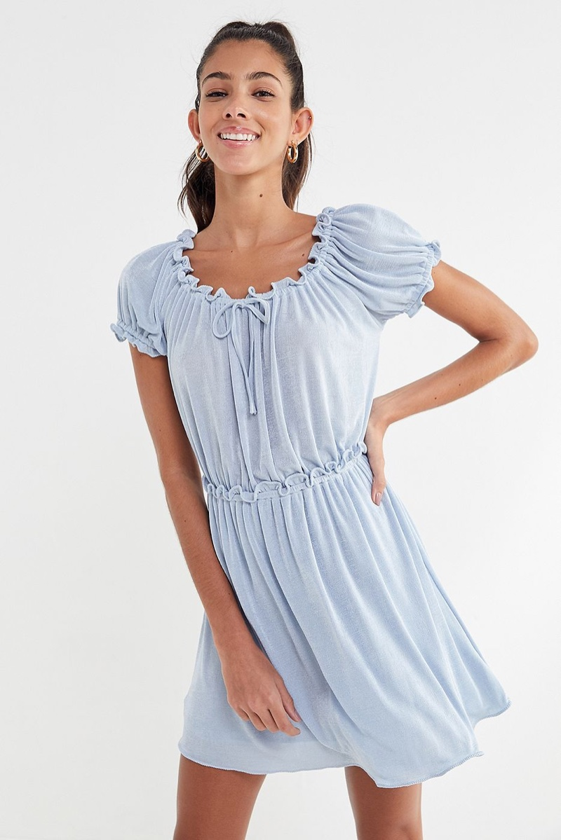 Anna Sui x Urban Outfitters Ruffle Babydoll Dress