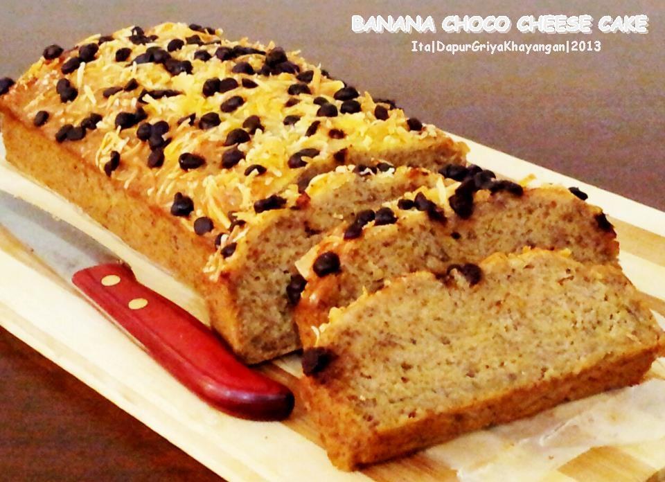 Resep Banana Cake Khas Jepang: Dapur Griya Khayangan: Banana Cake Mudah