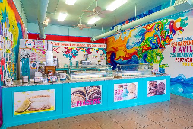 Inside Peace Pie - St Augustine FL