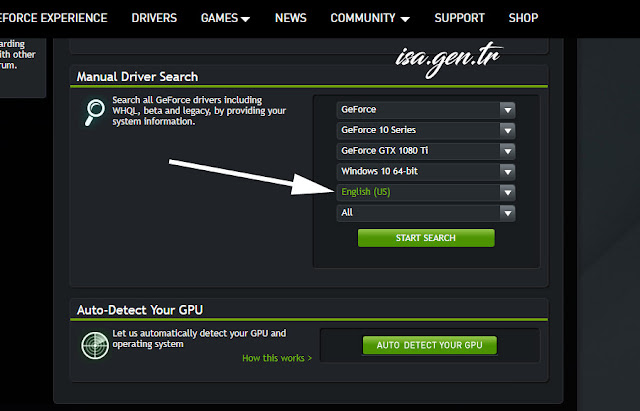 geforce experience driver indir