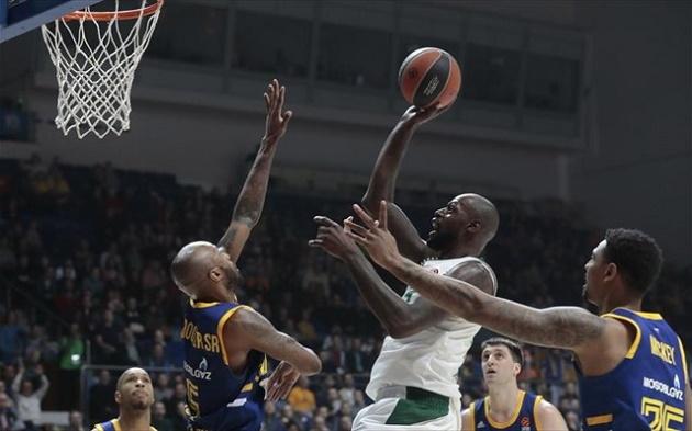 Euroleague: Δεν λέει να «σηκώσει κεφάλι» εκτός έδρας ο Παναθηναϊκός