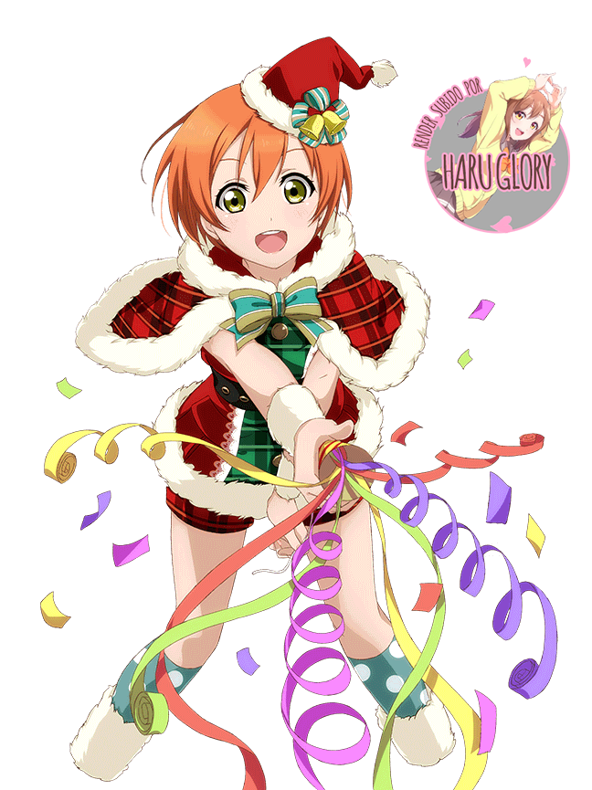 Hoshizora Rin 23 (navidad)