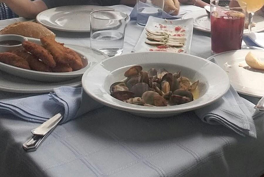 Comida en el Restaurante El Pescador, San Vicente de la Barquera,Cantabria