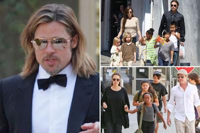 Brad and Angelina's divorce story