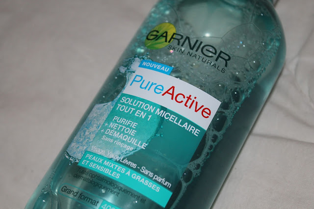Solution Micellaire Tout en 1 PureActive - Garnier
