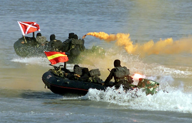 Indian Navy MARCOS Commando Training