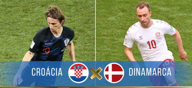 Assistir Croácia X Dinamarca Ao Vivo na Copa da Rússia