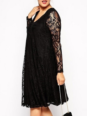 bd565d15ea4 I love it that in fashionmia you can find too hot plus size dresses like  this black dress.