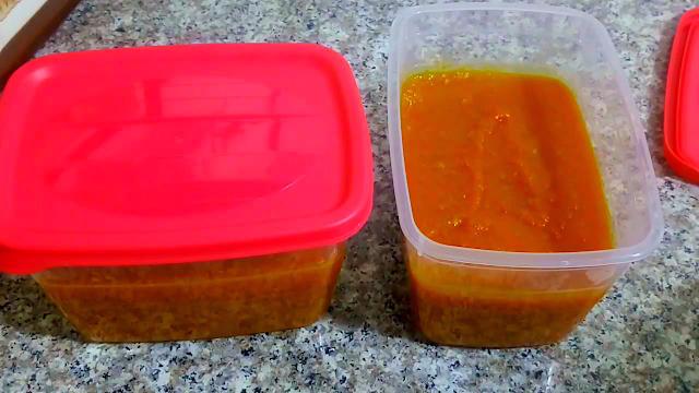 صوص الطماطم و طريقة تجميدها - مطبخ ام وليد