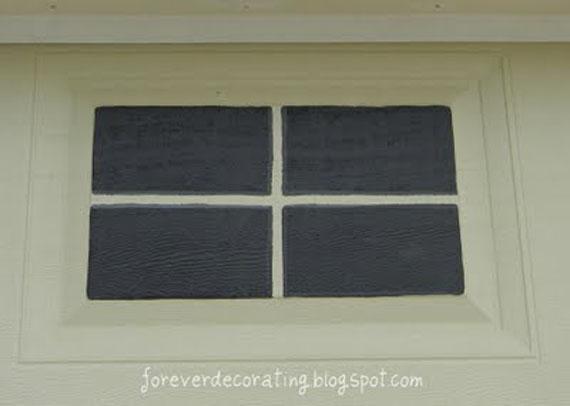 Remodelaholic easy faux carriage door tutorial for Faux painting garage doors