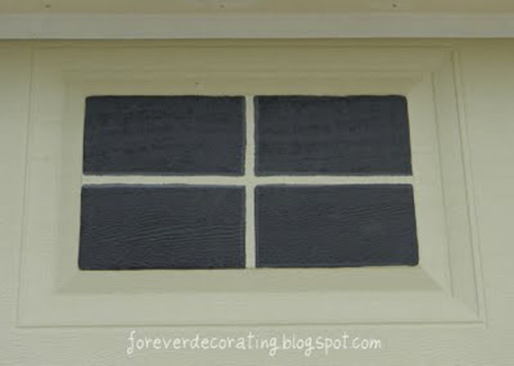 When The Tape Was Removed, It Appeared That These Windows Had Mullions To  Match The Ones In Our Real Windows. I Then Made The Gray Paint Again And  Painted ...