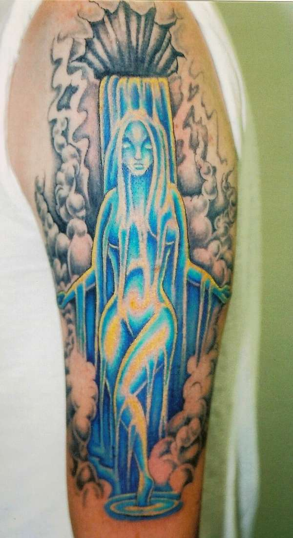 Aquarius tattoos - Fashion Designer""