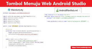 Cara Membuat Tombol Menuju Website Di Android Studio
