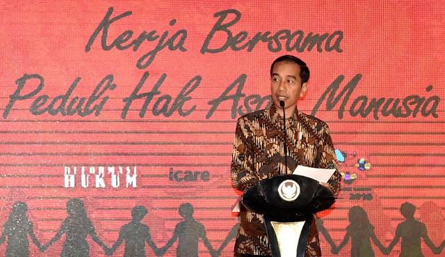 Pengamat: Narasi Jokowi Soal HAM Tidak Jelas