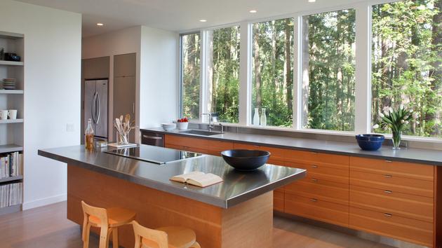 Classy Kitchen Windows Ideas 1