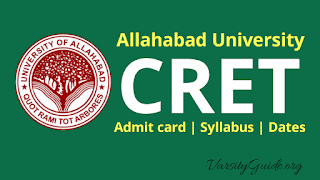 Allahabad University Combined Research Entrance Test 2019