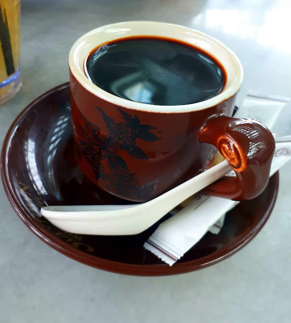 Breakfast di Old Town White Coffee Senai Airport Johor Malaysia