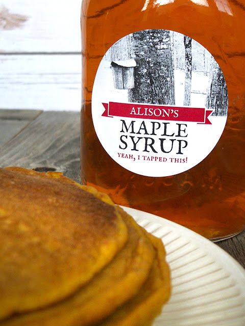 Custom Tree Tapping Maple Syrup Labels