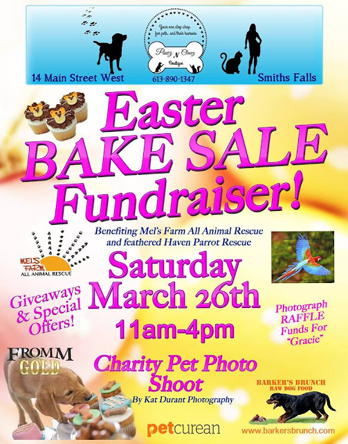 Bake Sale Fundraising Event For Animal Rescue In Smiths Falls