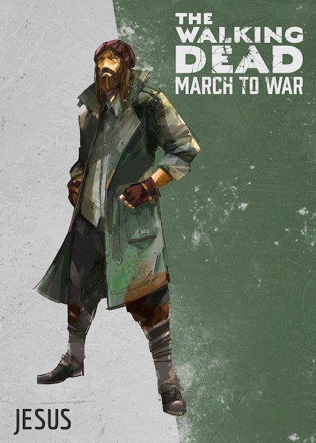 The Walking Dead: March to War - Jesus