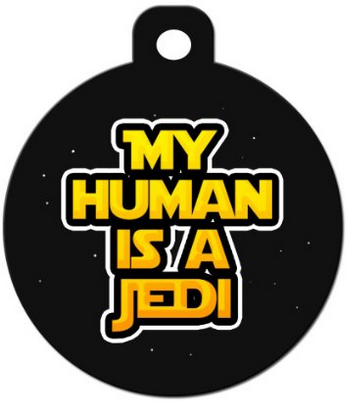 awesome star wars tag for dogs