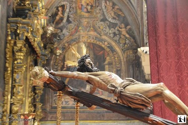 Horario e Itinerario Vía Crucis del Cristo del Cristo del Buen Fin. Sevilla 05 de Abril del 2019
