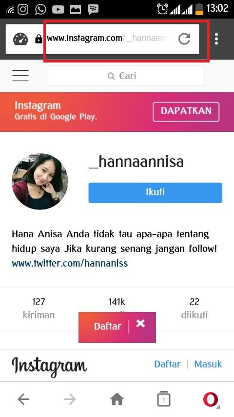 Cara Melihat Foto Profil Instagram yang di Private 2018 Work 100% - Azryan Askara