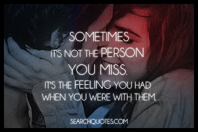 When You Miss Someone, When You Miss Something Kambuna Story quotes
