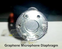 Graphene Microphone Diaphragm
