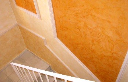 P tinas sobre paredes - Color ocre para paredes ...