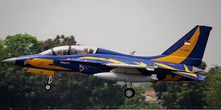 Proses evakuasi usai kecelakaan berlangsung lancar dan cepat kondisi pesawat tempur indonesia rusak berat
