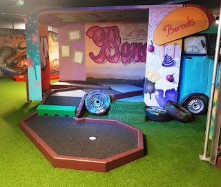 Trailer Trash Jim's Crazy Golf course at Level Preston