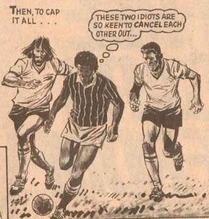 Joe McCaffrey and Jim Duke together 1982/83