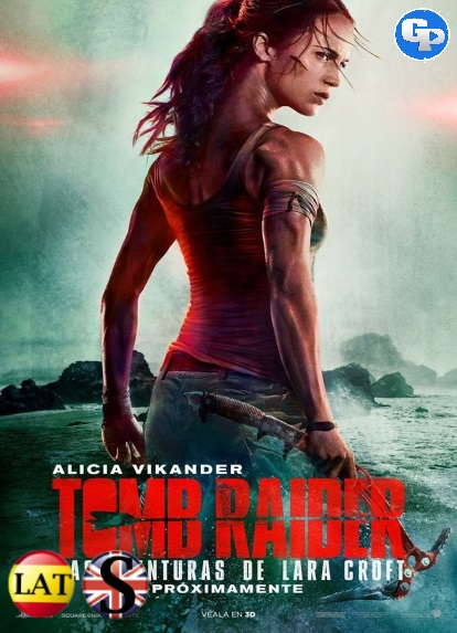 Tomb Raider: Las Aventuras de Lara Croft (2018) HD 1080P LATINO/INGLES