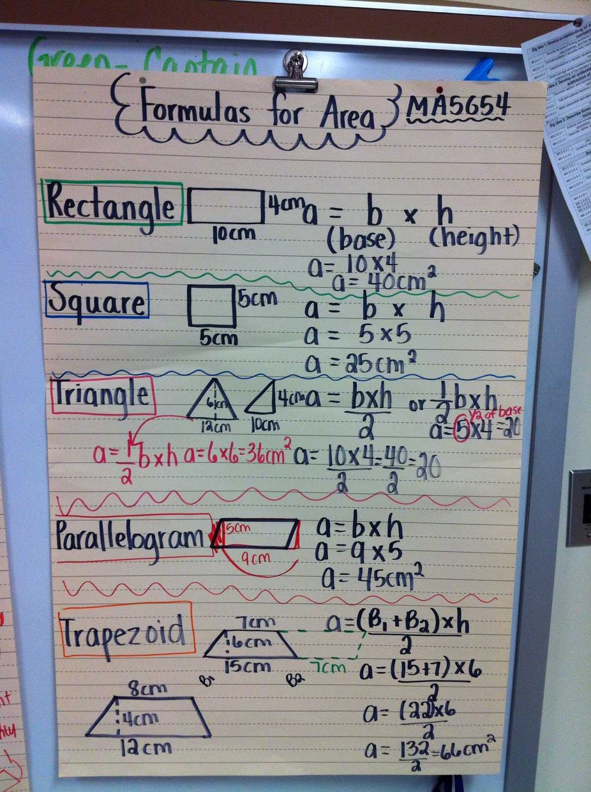 Mrs Thomas 5th Grade Class How Can We Determine The Area Of A T Zoid