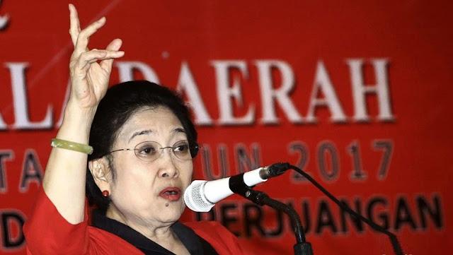 Ketua Umum PDI-Perjuangan Megawati Soekarnoputri