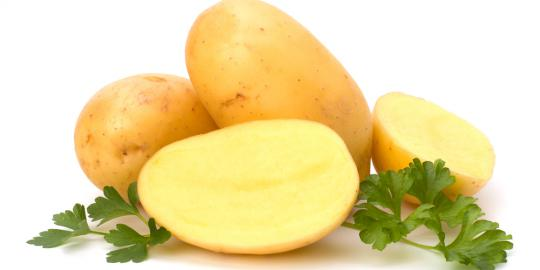 Cara Menghilangkan Bekas Jerawat Secara Alami dengan kentang