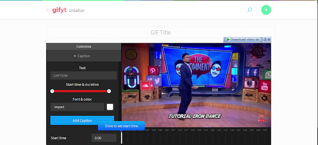 Youtube to GIF - Mas Devz