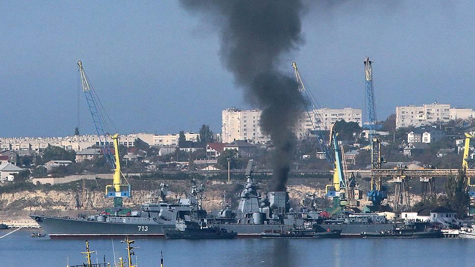 ЧФ РФ втратив передостанній корабель 1-го рангу