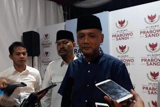 Jubir Koalisi Indonesia Adil Makmur, Irfan Yusuf Hasyim atau dikenal Gus Irfan.