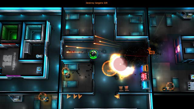 Neon Chrome MOD APK unlimited money