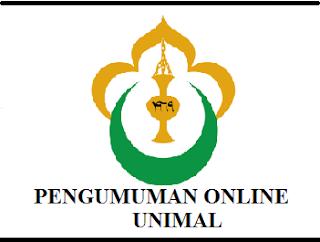 Pengumuman Online UNIMAL 2019/2020